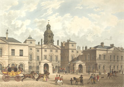 A View of the Horseguards from Whitehall